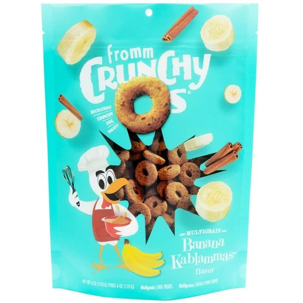 Fromm Fromm Crunchy O's Banana 6oz