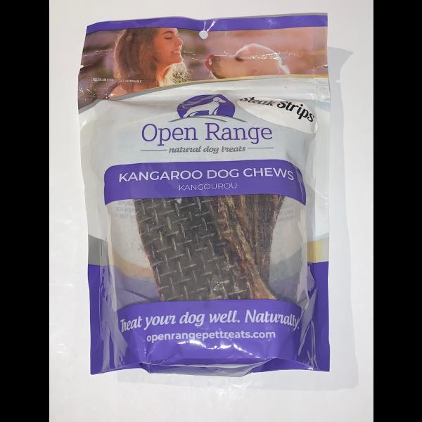 Open Range Open Range Kangaroo Steak Strips 100g