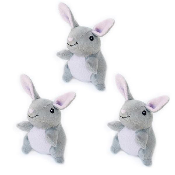 Zippy Paws Zippy Paws Mini Bunnies 3pk