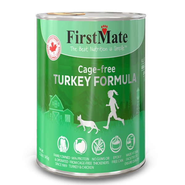 First Mate First Mate Cat Can Grain Free Turkey