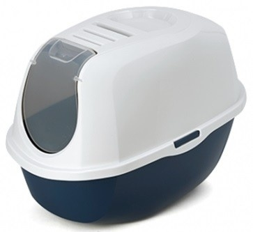 Moderna Smart Hooded Litter Pan Blueberry