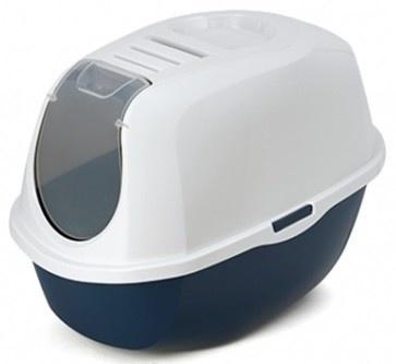 Moderna Smart Hooded Litter Pan Blueberry