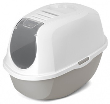 Moderna Smart Hooded Litter Pan Warm Grey