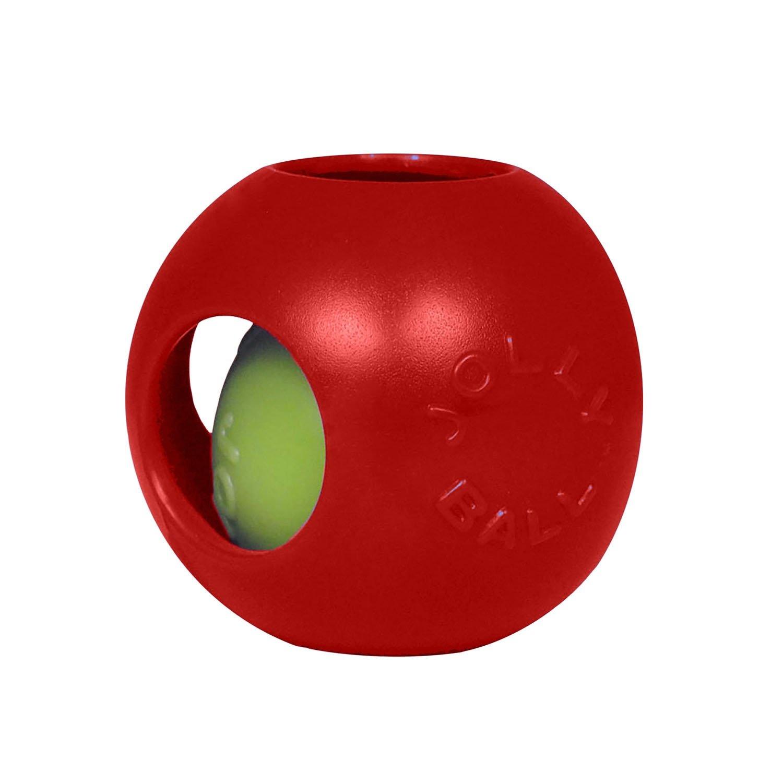 """Jolly Pets Jolly Pet Teaser Ball Red 10"""""""