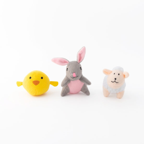 Zippy Paws Zippy Paws Mini Easter Friends 3pk