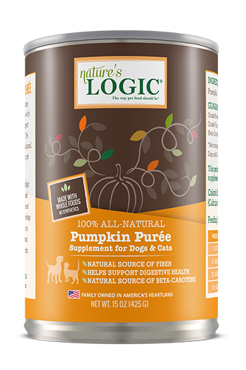 Nature's Logic Pumpkin Puree 15oz