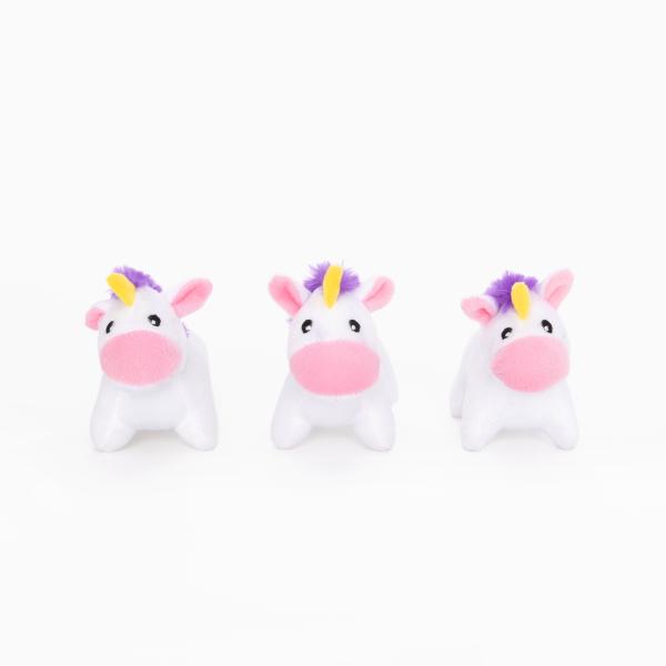 Zippy Paws Zippy Paws Mini Unicorns 3pk