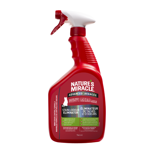 Nature's Miracle Nature's Miracle Cat Advanced Stain & Odor 946mL Spray
