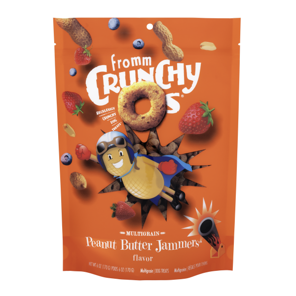 Fromm Fromm Crunchy O's Peanut Butter 6oz