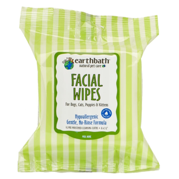 Earthbath Earthbath Facial Wipes 25ct