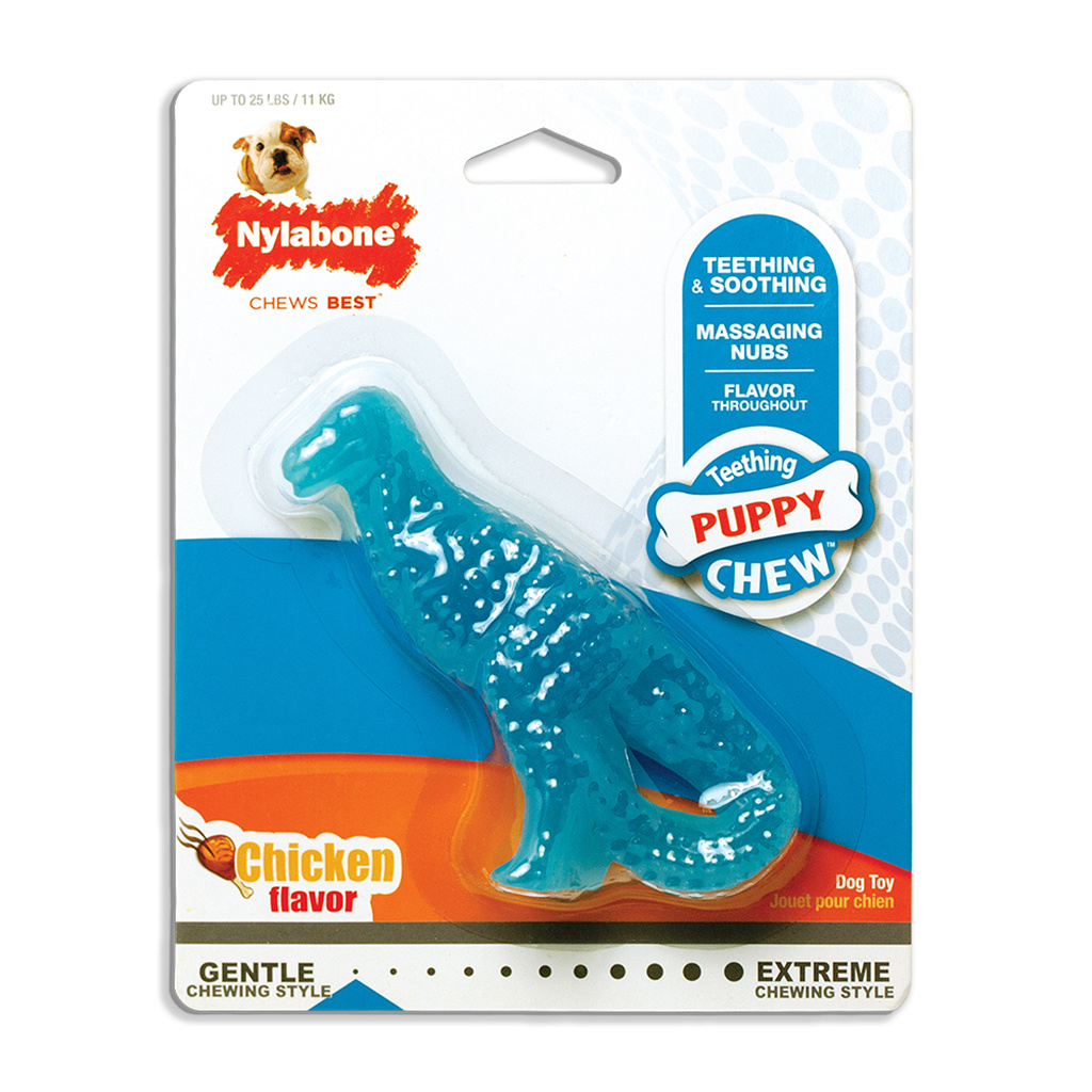 Nylabone Dino Puppy Teething Chew