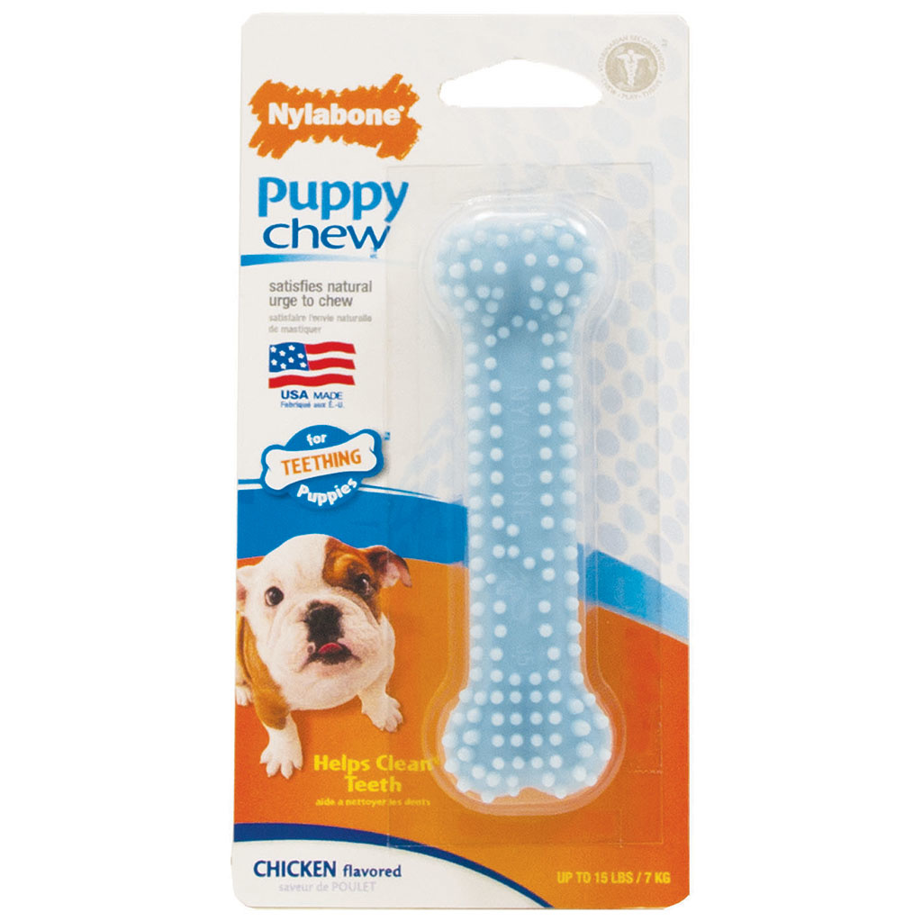 Nylabone Puppy Dental Chew Blue Petite