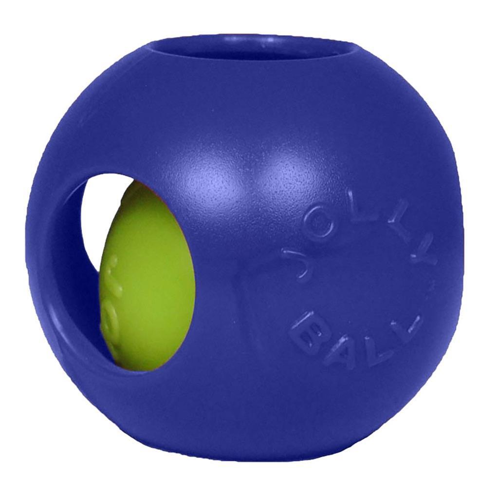 """Jolly Pets Jolly Pet Teaser Ball 8"""" Blue"""