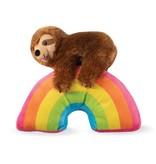 Fringe Sloth on a Rainbow