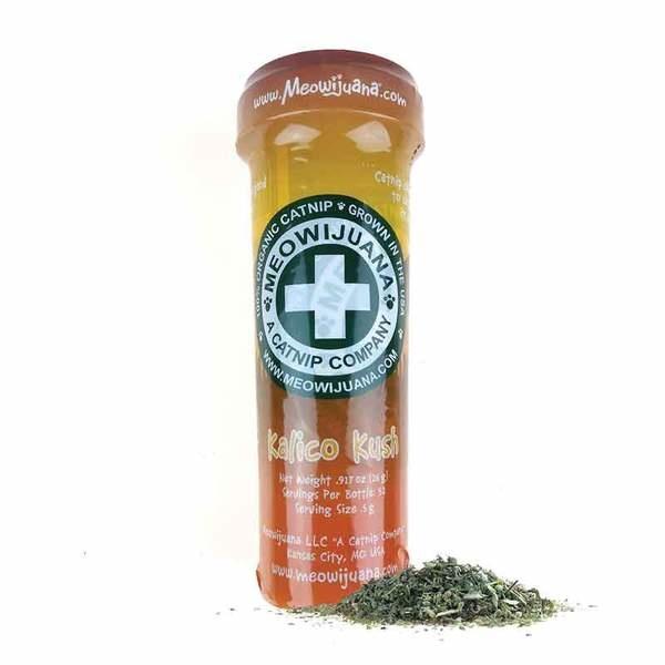 Meowijuana Kalico Kush Catnip w/ Valerian Root