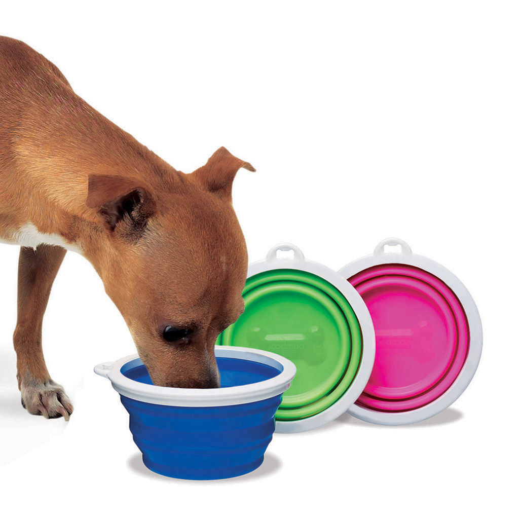 Petmate Silicone Travel Bowl 3 Cups