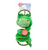 Charming Pet Springys Gator Green Medium