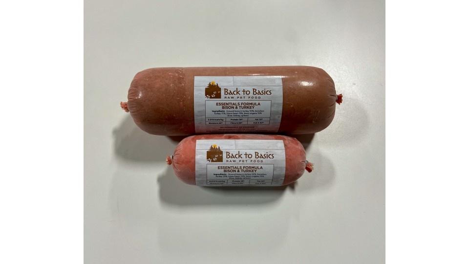 Back to Basics Back to Basics Turkey & Bison Essentials