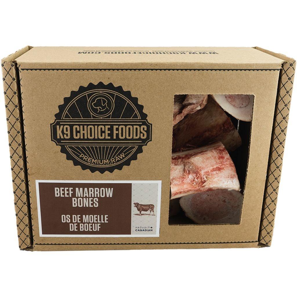 K9 Choice Frozen Beef Marrow Bones 1.36kg
