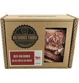 "K9 Choice Frozen Long Rib Bone 5-7"" 1.36kg"