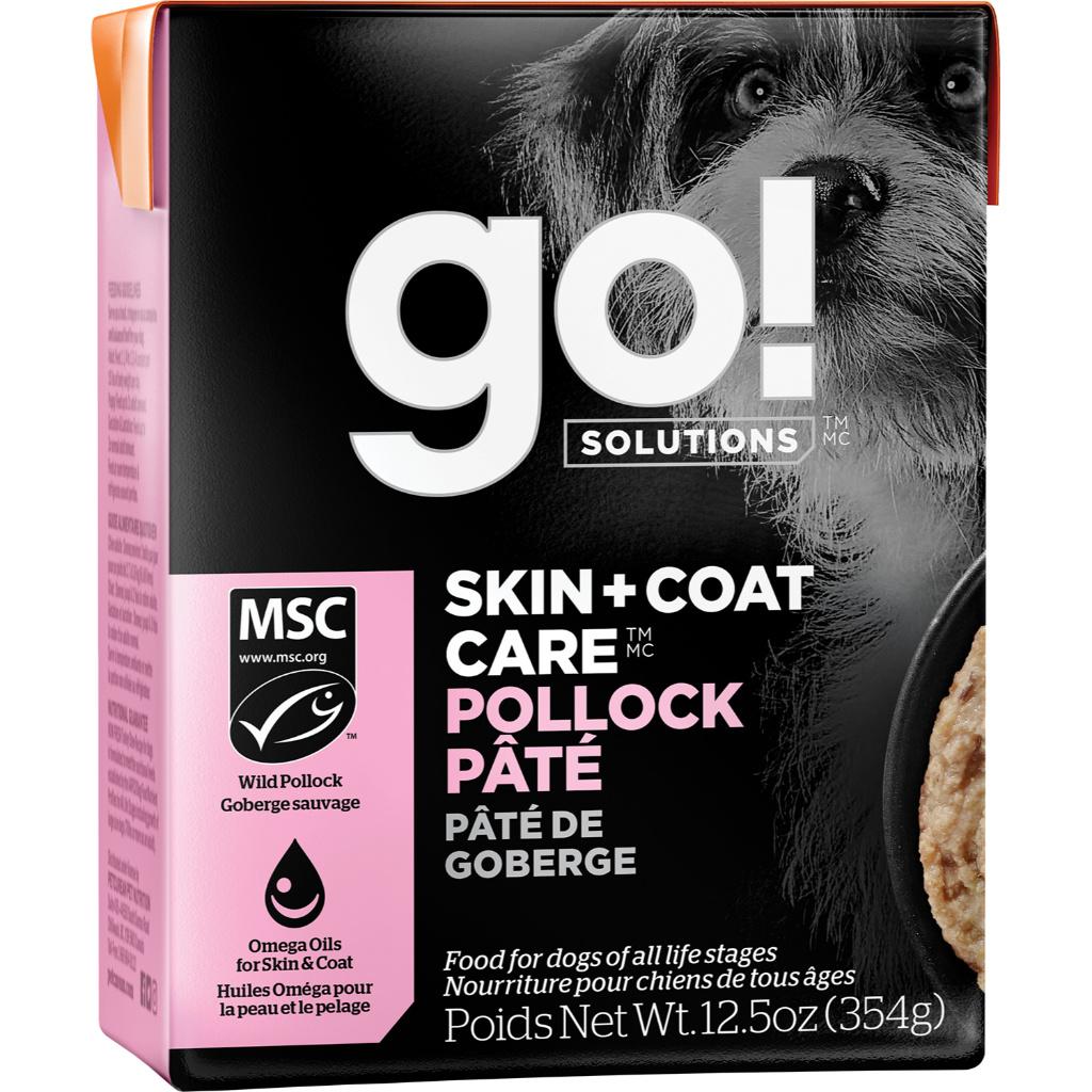 Petcurean Go! Skin & Coat Pollock Pate 12.5oz