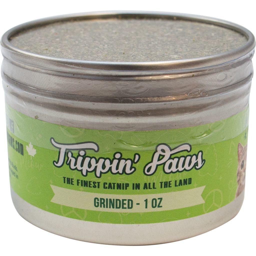 Trippin Paws Grinded Tin Catnip 1oz