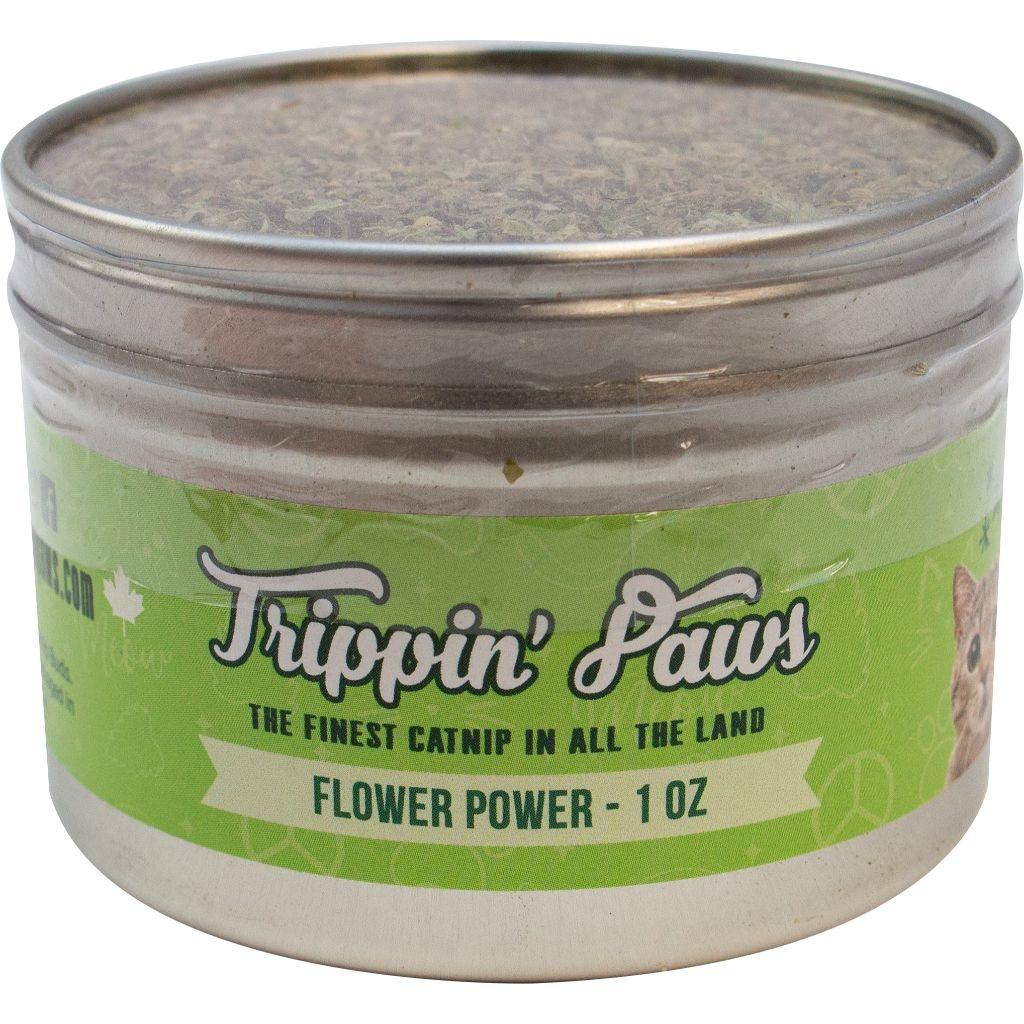 Trippin Paws Flower Power Tin 1oz