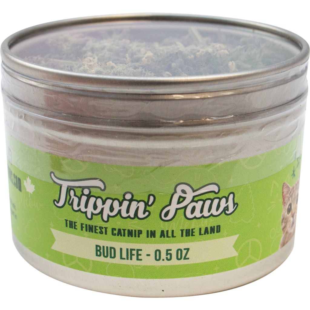 Trippin Paws Bud Life Catnip Tin 1/2oz