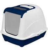 Moderna Flip Hooded Litter Pan Large Blue