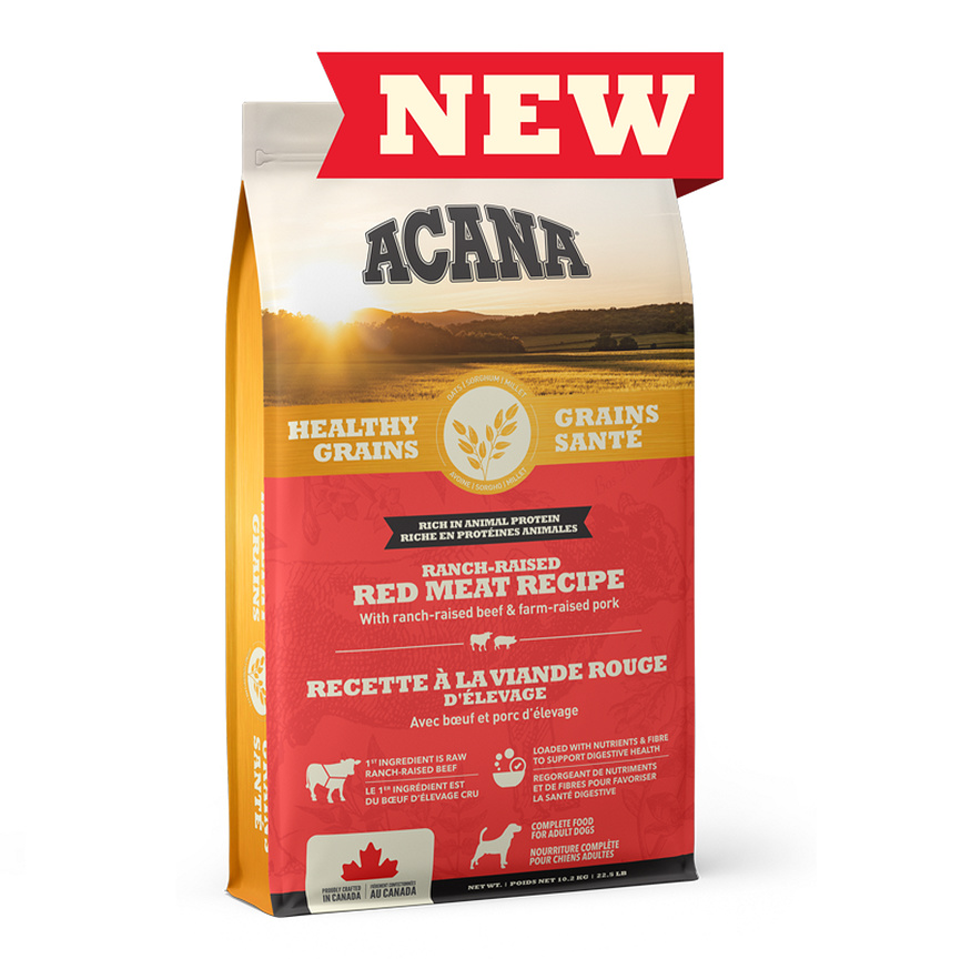 Champion Acana Healthy Grains Red Meat