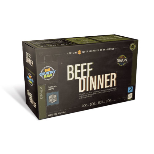 Big Country Raw BCR Beef Dinner