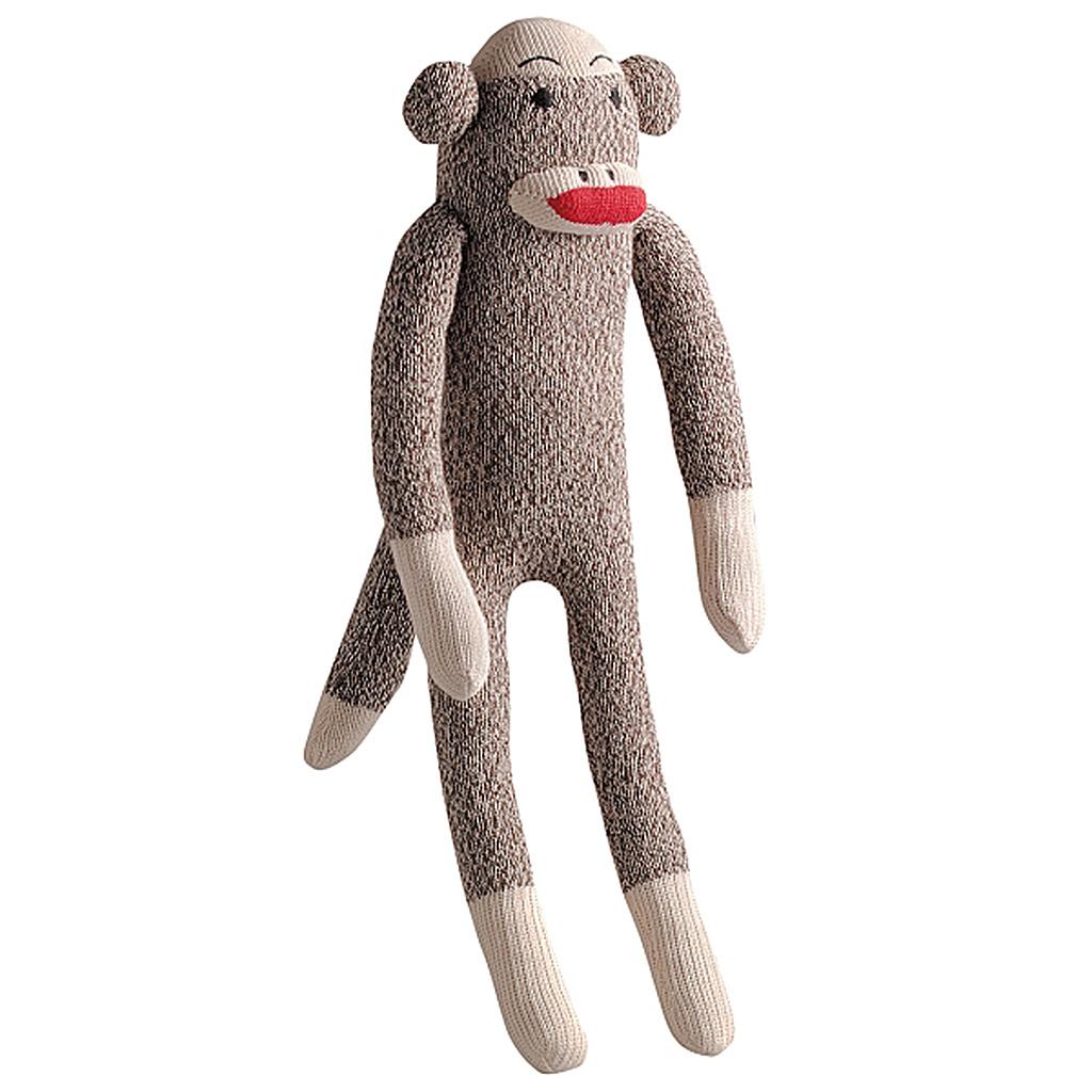 "Multipet Sock Pals Monkey 10"""