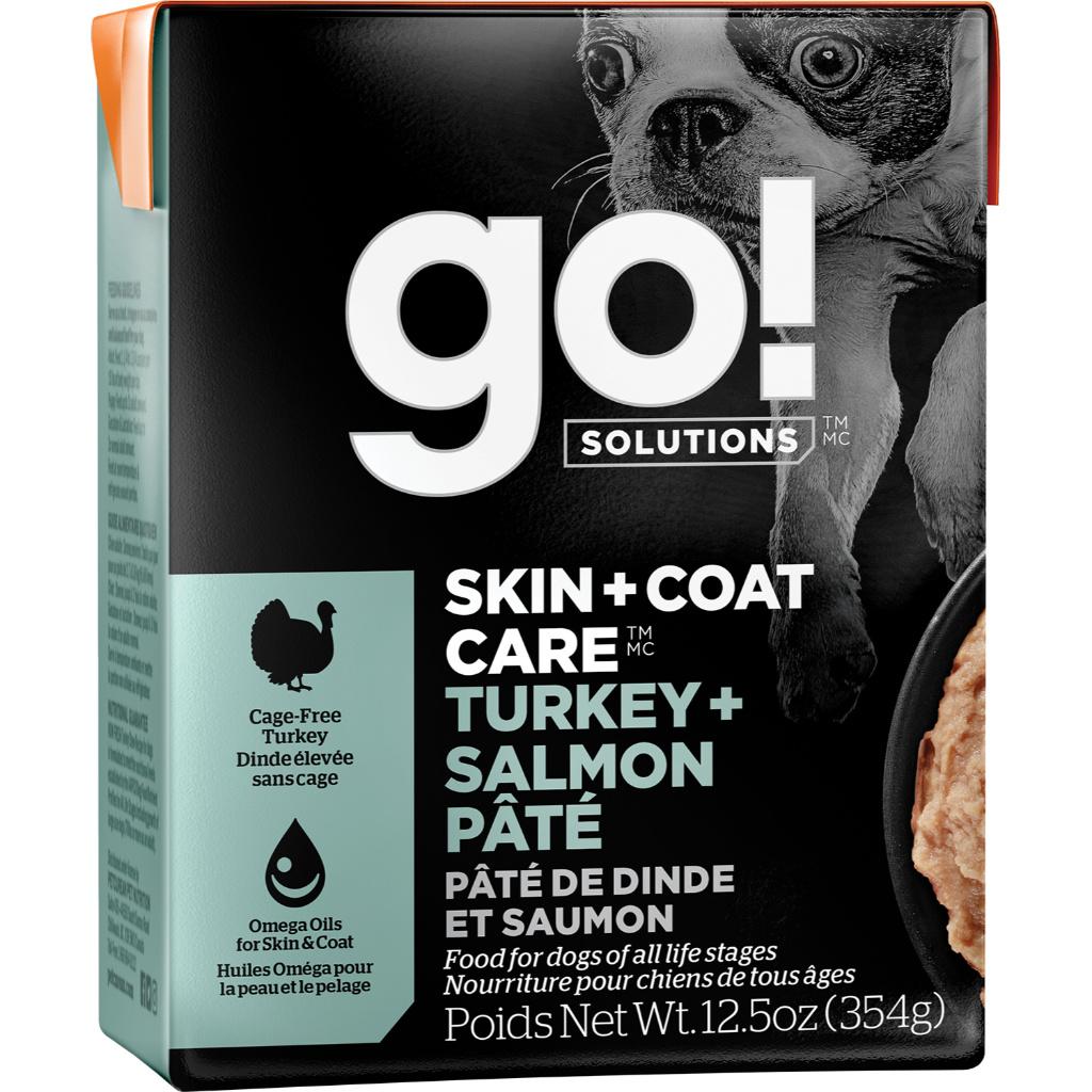 Petcurean Go! Skin & Coat Turkey & Salmon Pate 12.5oz