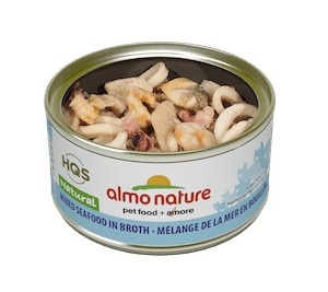 Almo Almo Mixed Seafood in Broth 70g