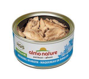 Almo Almo Mackerel in Broth 70g