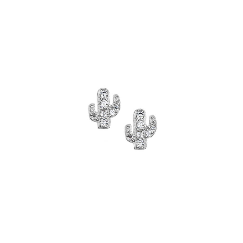 11378eb2c Pave Cactus Stud Earrings   Frances