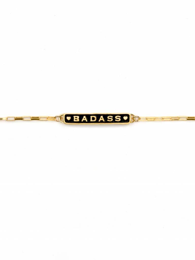 Badass Enamel Bracelet