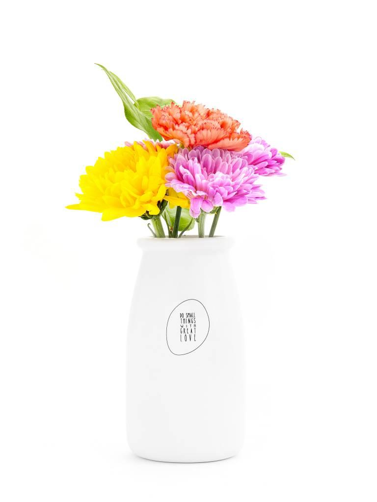 Ceramic Vase, Do Small Things With Great Love
