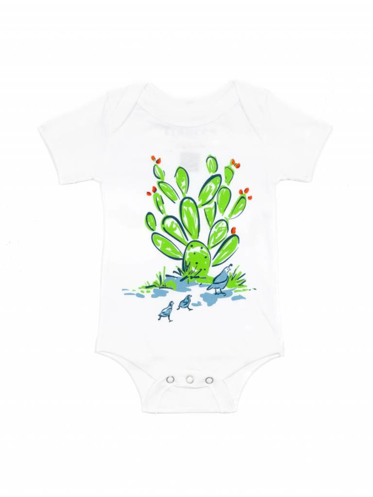 Frances Cactus & Quail One-Piece