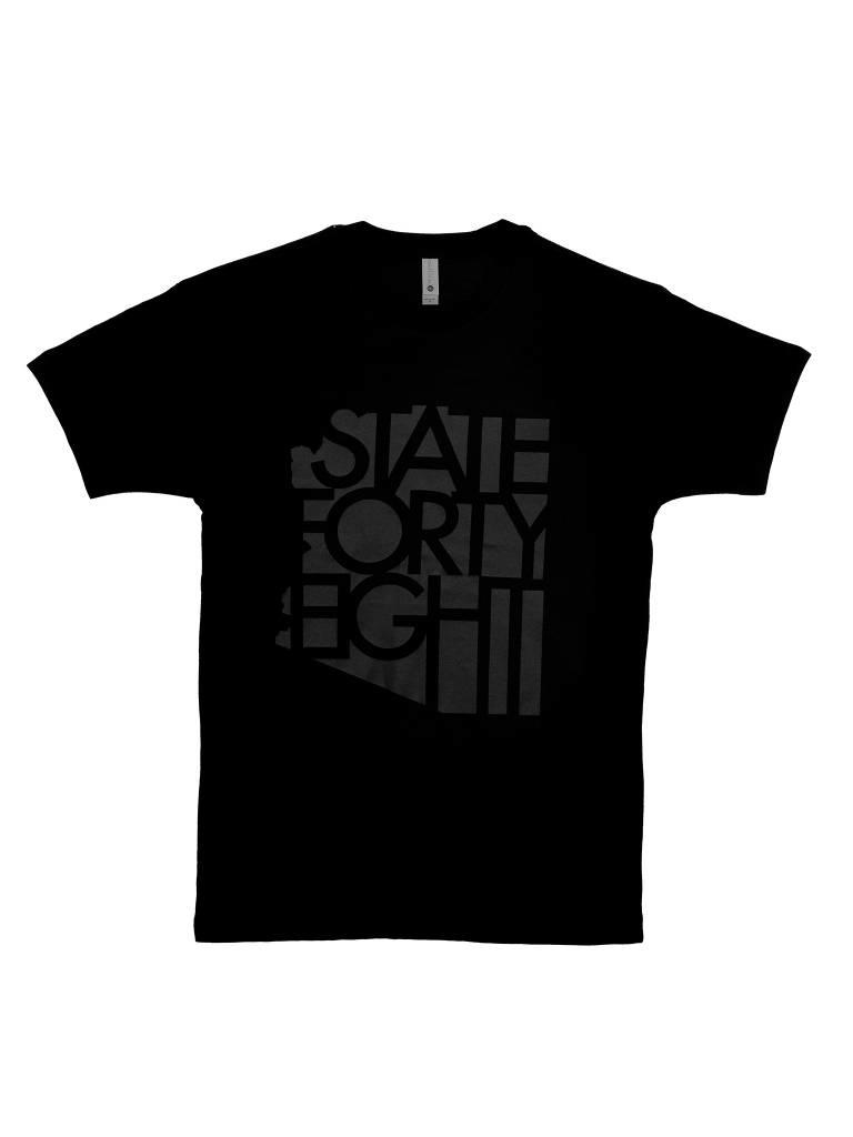 Black Flag State Forty Eight Tee