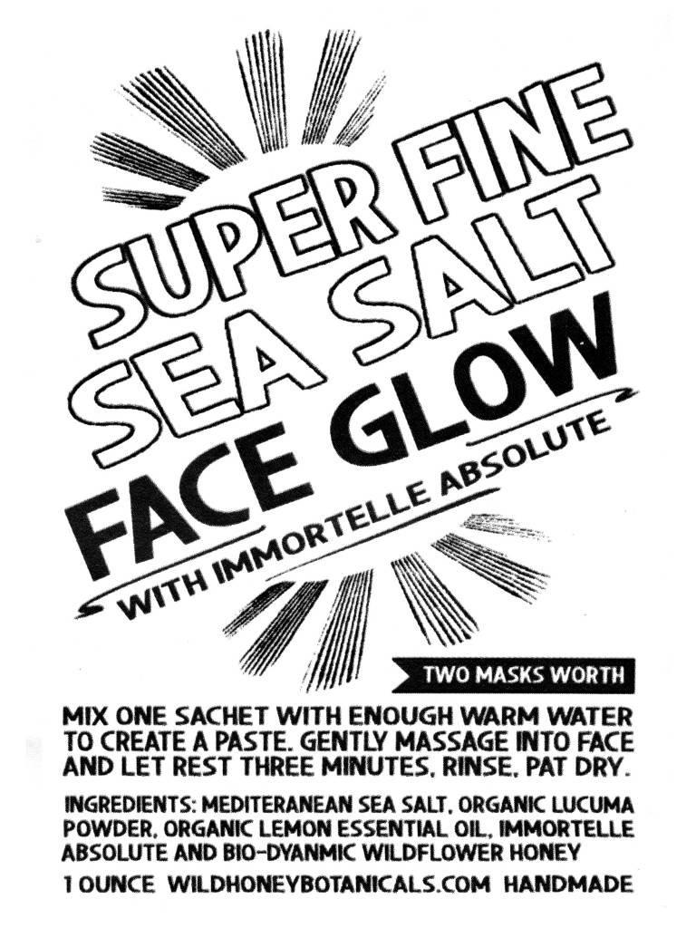 Super Fine Sea Salt Face Mask