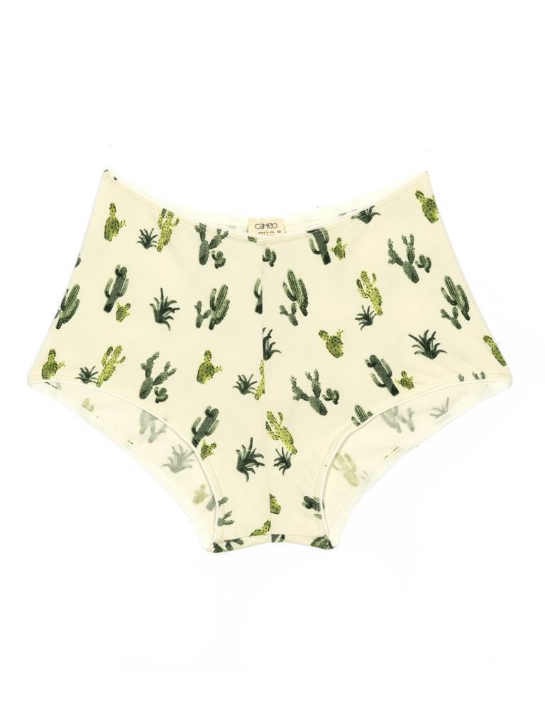 High-Waisted Cactus Undies, Natural