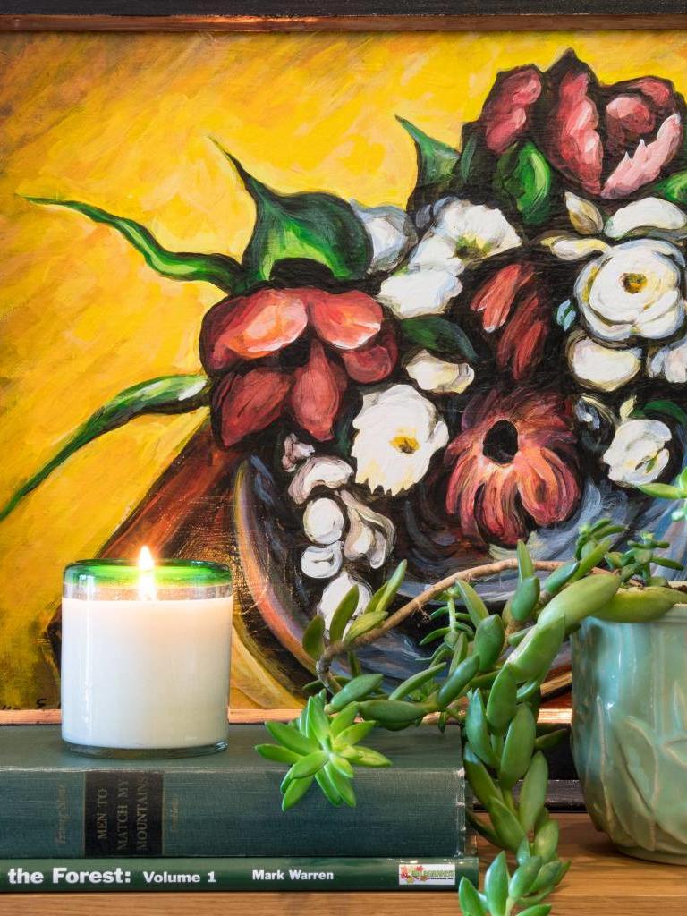 Desert Blossom Frances Candle