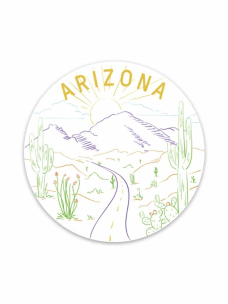 Arizona Road Trip Sticker