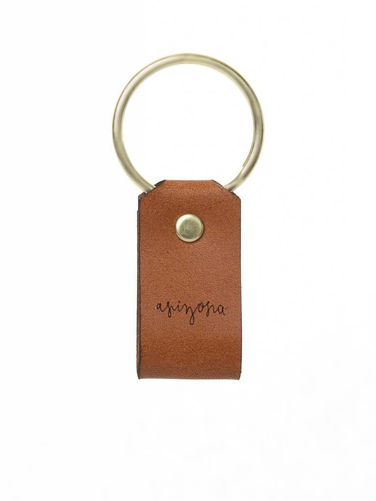 Leather Keychain, Arizona
