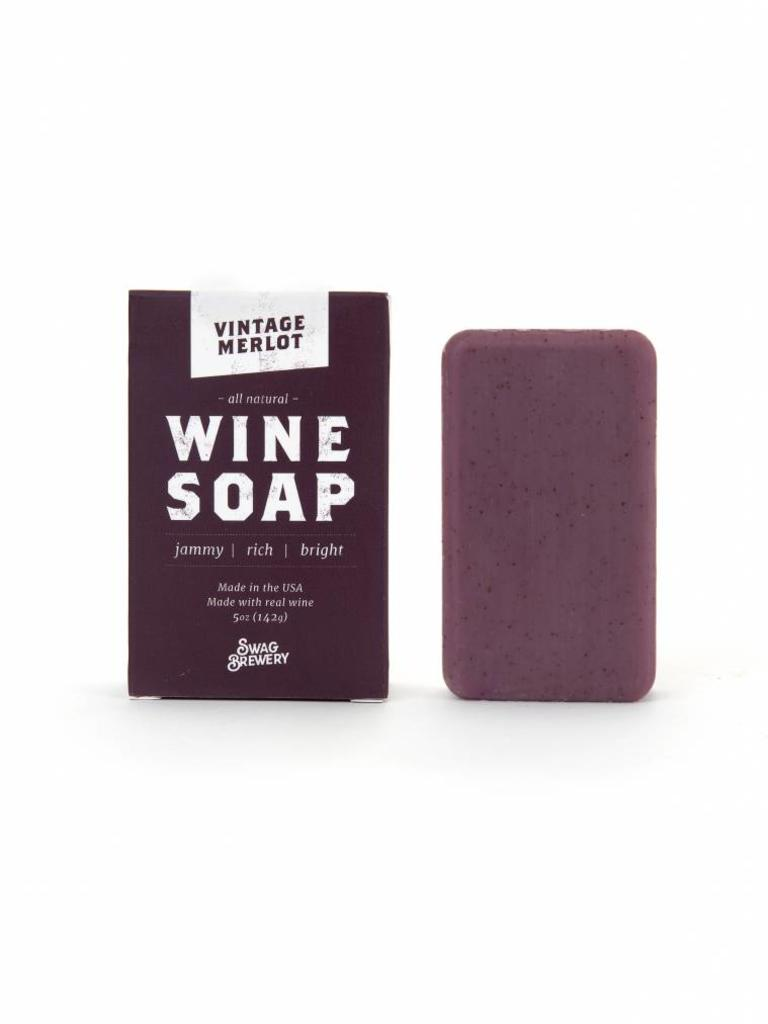 Boozy Soap, Vintage Merlot