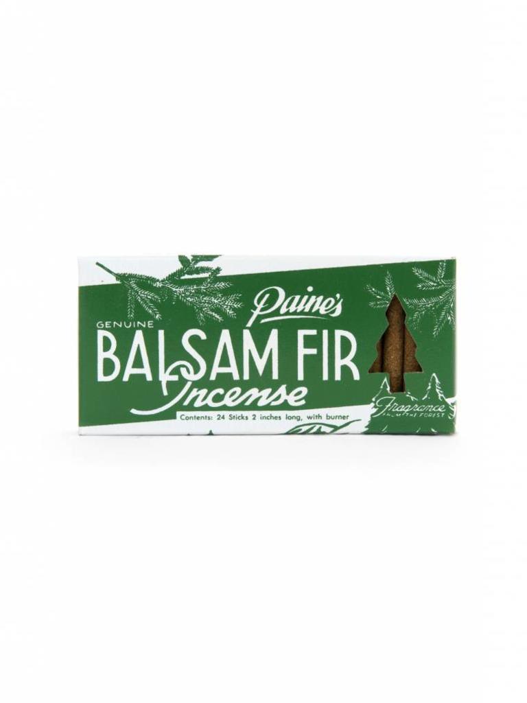 Balsam Fir Incense Sticks & Burner