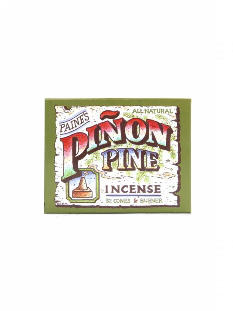 Piñon Pine Incense Burner & Cones