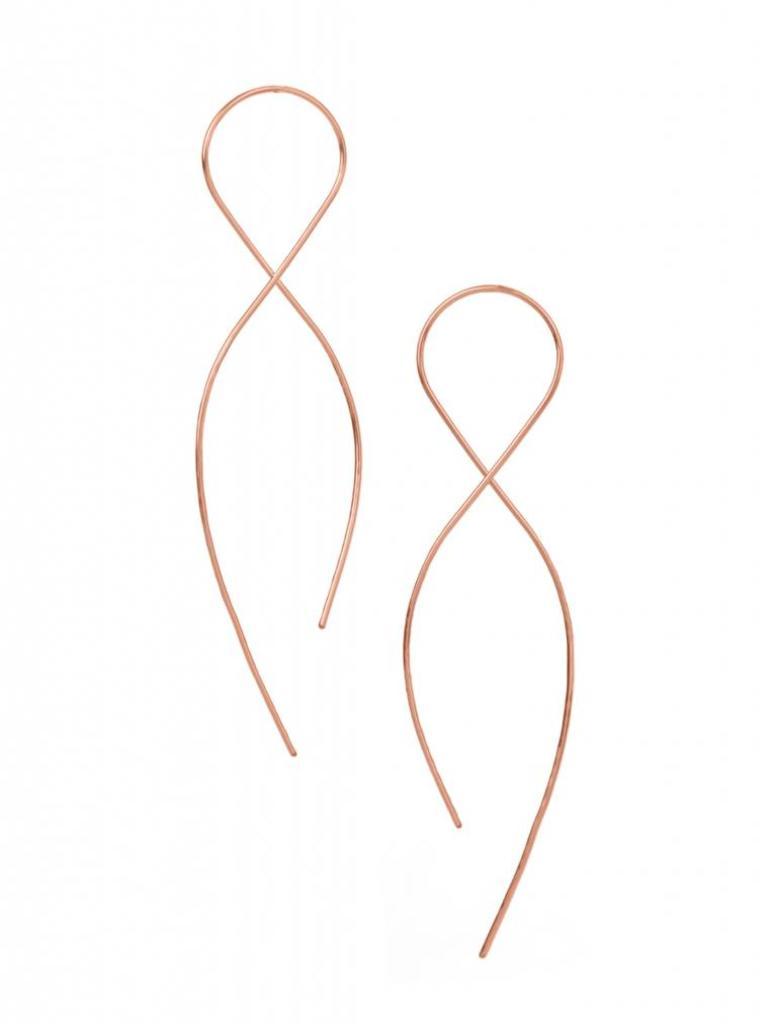 Large Infinity Earrings
