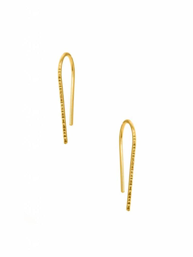 Small Trace Hook Earrings